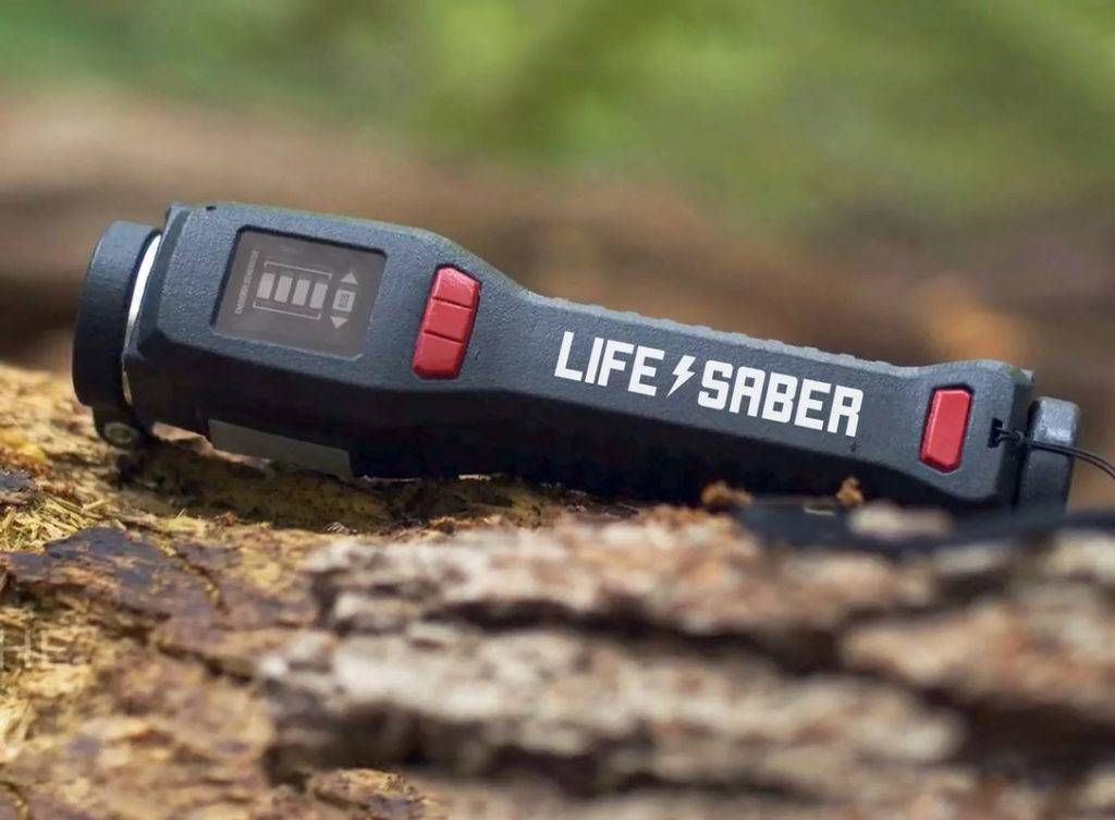 LIFESABER – Power Supply For Wilderness Survival id=