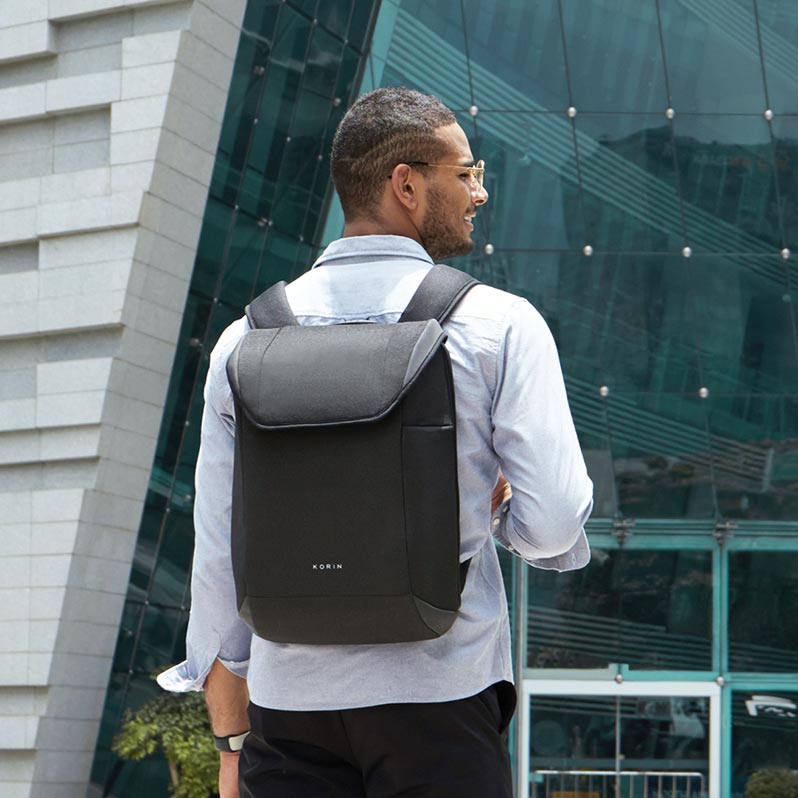 ClickPack X - Minimalist, Functional & Anti-theft