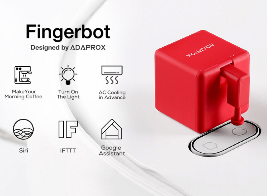 Fingerbot, Control All Devices Remotely Through Voice or App id=