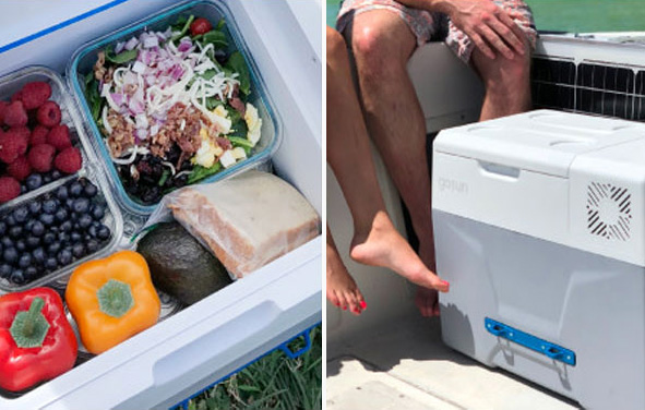 GoSun Chill Solar Cooler That Doesn't Need Ice id=