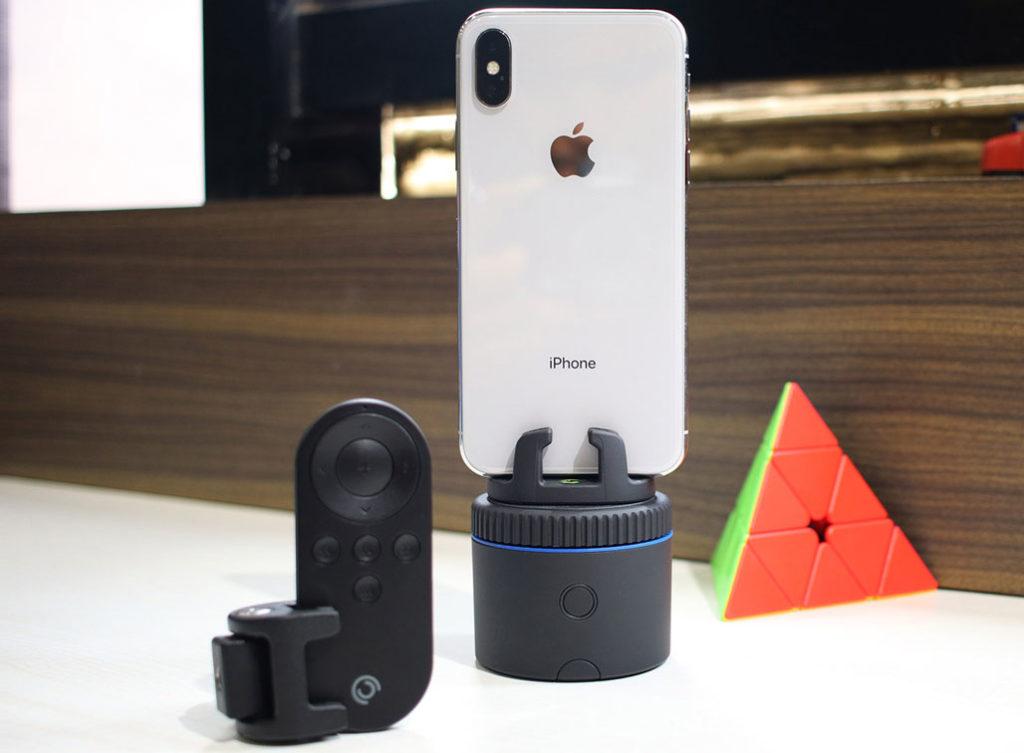 Pivo Auto Tracking Smartphone stand id=