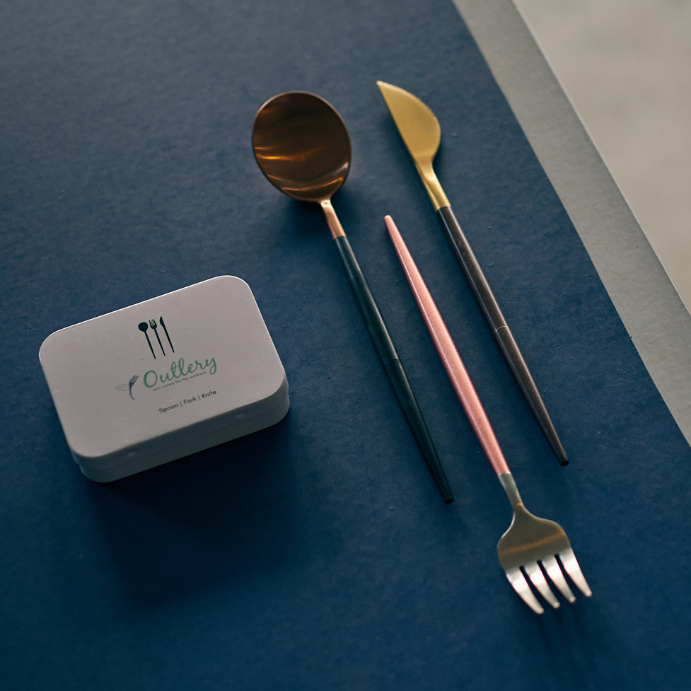 Outlery – Pocket-Sized Reusable Cutlery