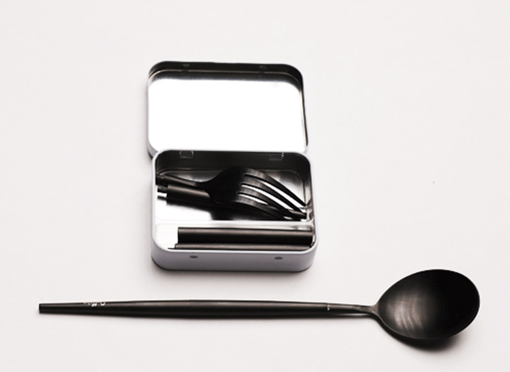 Outlery Pocket Sized Reusable Cutlery id=