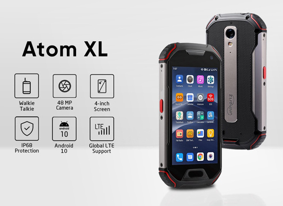 Atom XL Indestructible radio phone id=