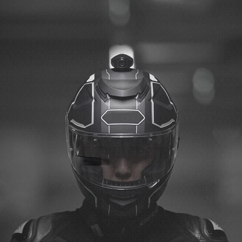 revan hud bike helmet