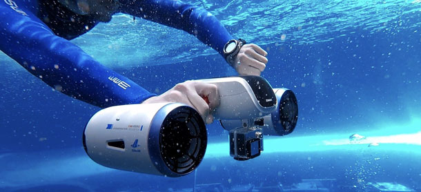 WhiteShark MixPro - Pocked-sized Underwater Scooter id=