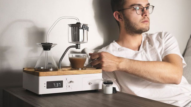 TEA AND COFFEE MAKING ALARM id=