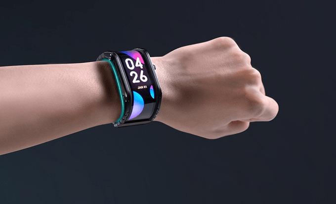 nubia flexible display watch id=