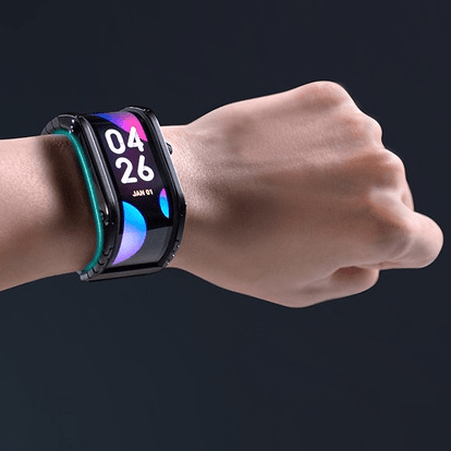 nubia flexible display watch