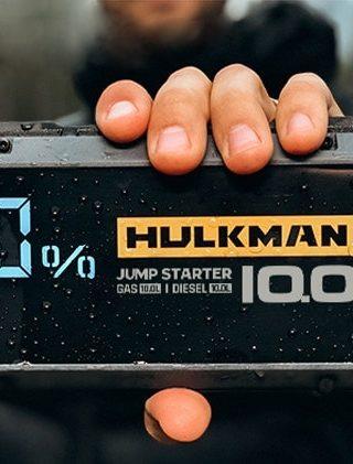 hulkman portable car jump starter