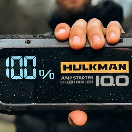 hulkman portable car jump starter