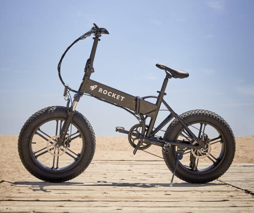 rocket self charging folding electric bike id=