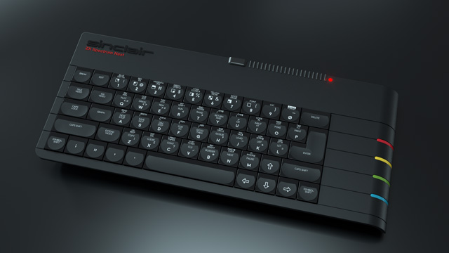 ZX Spectrum Next kickstarter keyboard for gamers