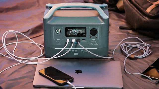 Charging Power Station kickstarter ecoflow r600