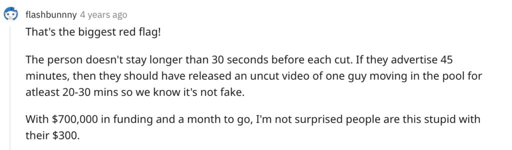 Kickstarter failure Triton