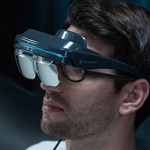 DreamGlass 4K Portable AR Virtual Smart Glasses